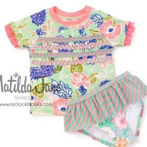 Matilda Jane Swim - Matilda Jane WATER BABY Rashguard Swim Top 18-24M